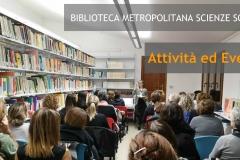 Biblioteca Metropolitana Scienze Sociali. Eventi & Attività