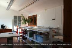 Sistema Bibliotecario di Monte Claro - Biblioteca Metropolitana Scienze Sociali. Sala lettura, studio e consultazione