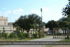 Biblioteca Emilio Lussu - Accesso lato Via Mattei