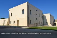 Biblioteca Emilio Lussu - Corpo Centrale