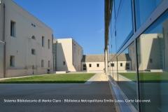 Biblioteca Emilio Lussu - Corte lato Ovest