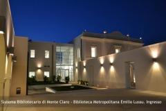 Biblioteca Emilio Lussu - Ingresso