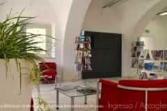 Biblioteca Emilio Lussu - Ingresso Accoglienza