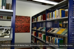 Biblioteca Emilio Lussu - Sezione Narrativa