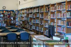 Sistema Bibliotecario di Monte Claro - Biblioteca Metropolitana Ragazzi. Sala lettura
