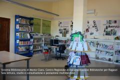 Sistema Bibliotecario di Monte Claro - Centro Regionale di Documentazione Biblioteche per Ragazzi. Sala lettura, studio e consultazione