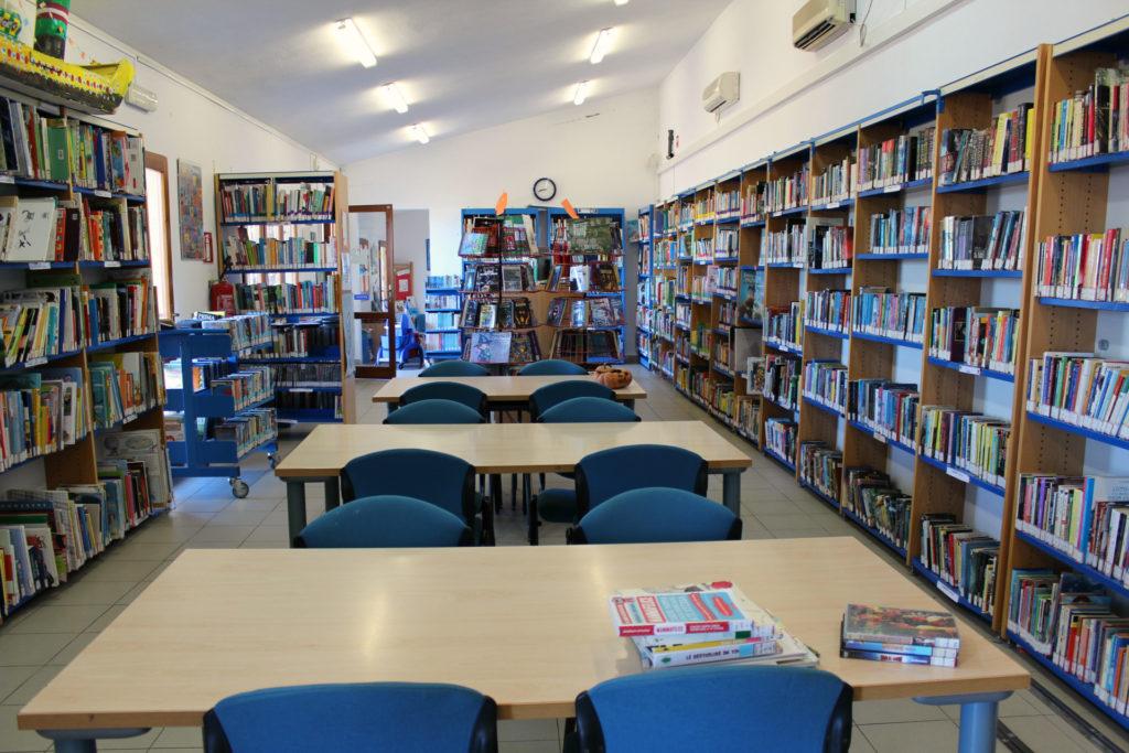 Biblioteca Ragazzi della Città metropolitana di Cagliari, Sala lettura
