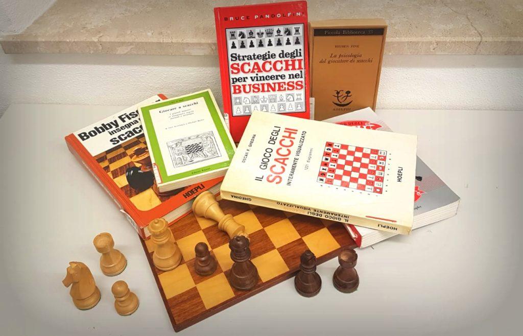 Laboratorio scacchi in biblioteca