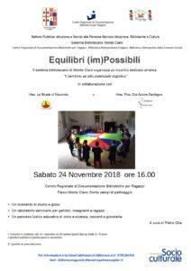 Locandina Equilibri (im)possibili 2