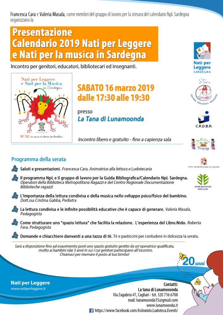 Calendario Fisico.Presentazione Guida Bibliografica Npl E Npm In Sardegna 2019
