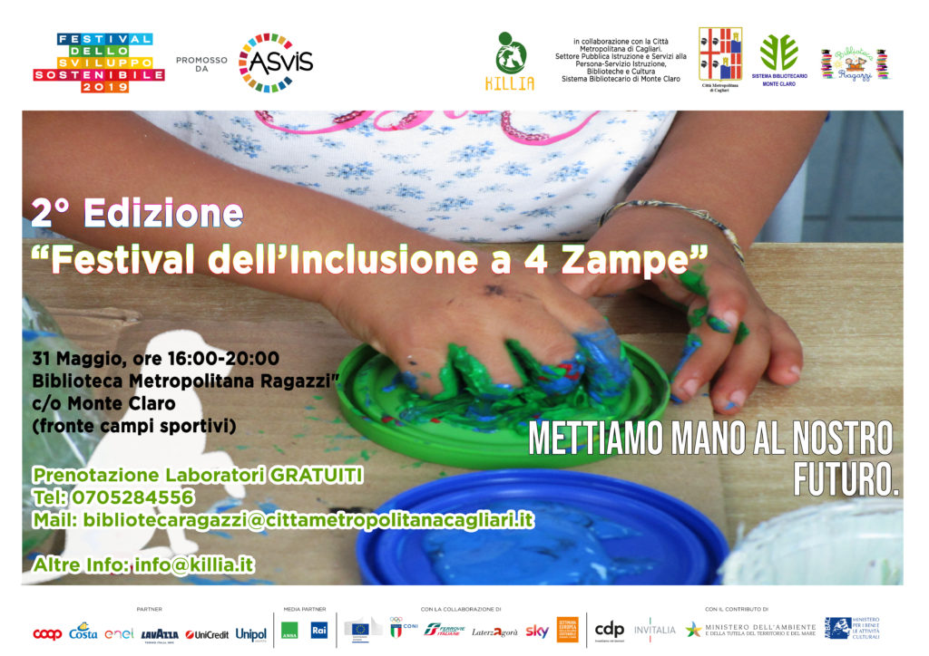 Festival dell'inclusione a 4 zampe: seconda edizione