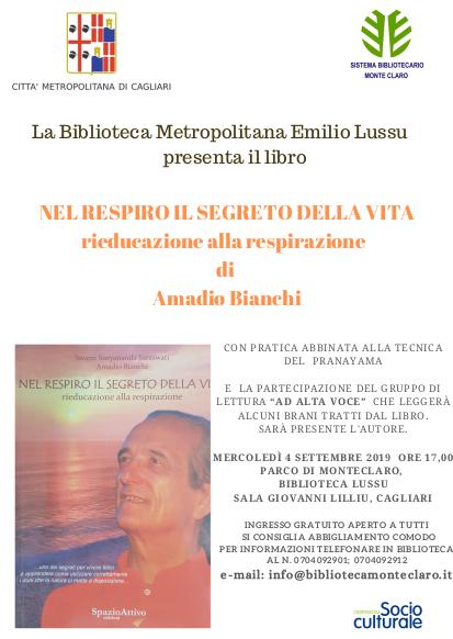 Locandina Presentazione Libro Amadio Bianchi