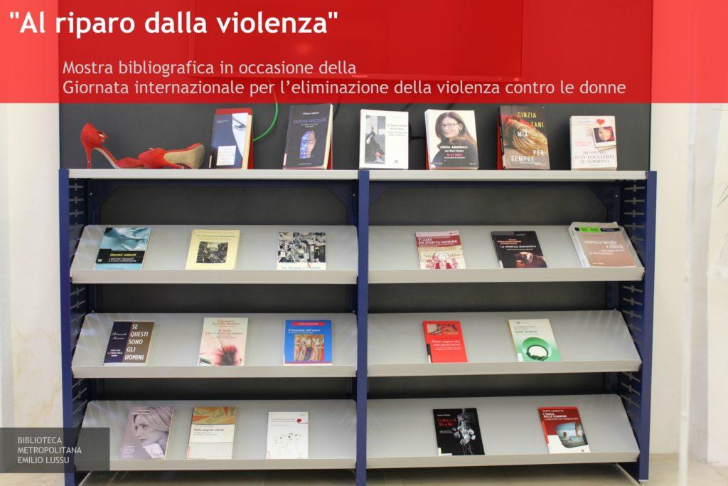 """Mostra bibliografica """"Al riparo dalla violenza"""""""
