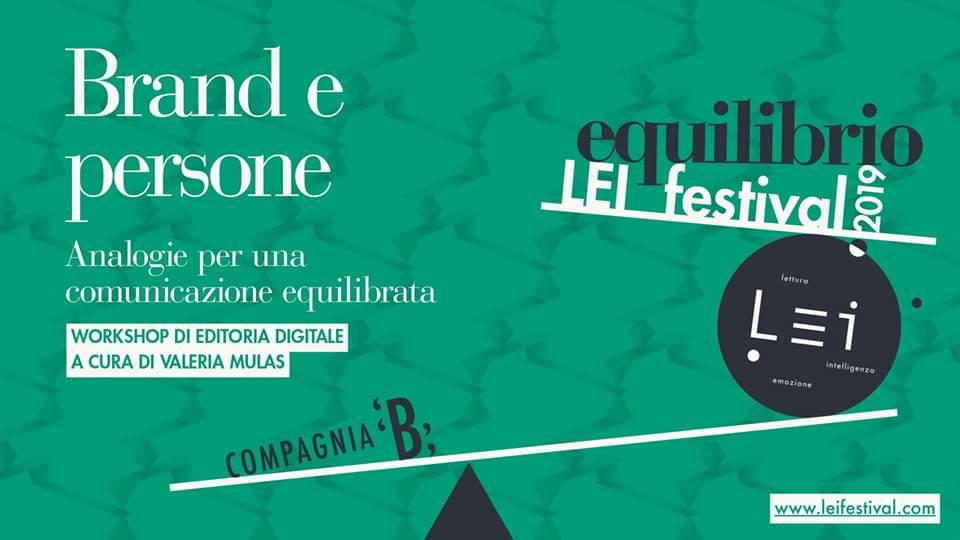 Festival Lei. Workshop di editoria digitale