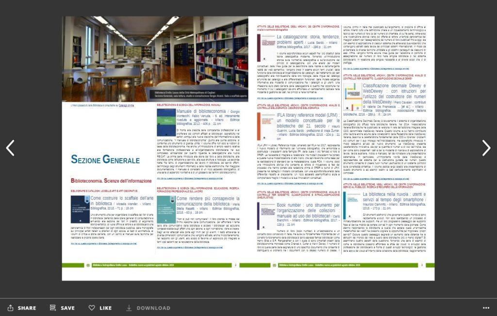 Nuovi arrivi in Biblioteca Agosto-Ottobre 2019