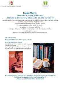 """""""LeggerMente: seminari e serate di lettura"""". Quarto incontro"""