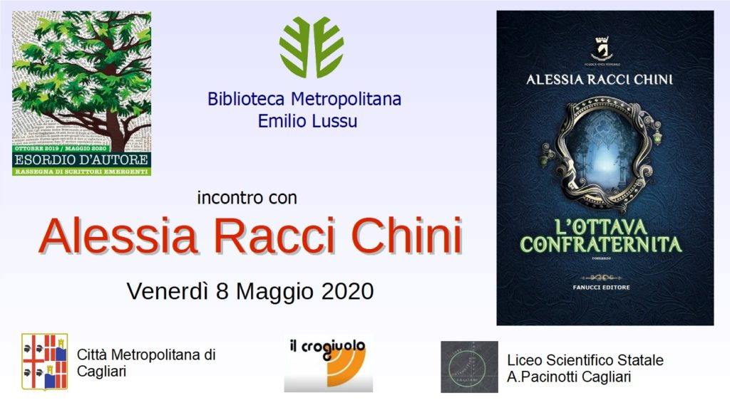 Diretta dell'incontro Alessia Racci Chini - Venerdì 8 maggio 2020