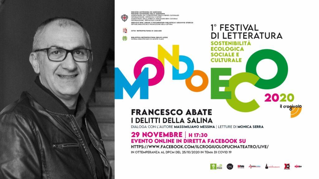 """Francesco Abate: """"I delitti della salina"""""""