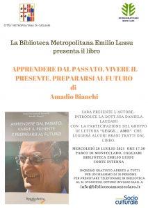 Presentazione libro di Amadio Bianchi
