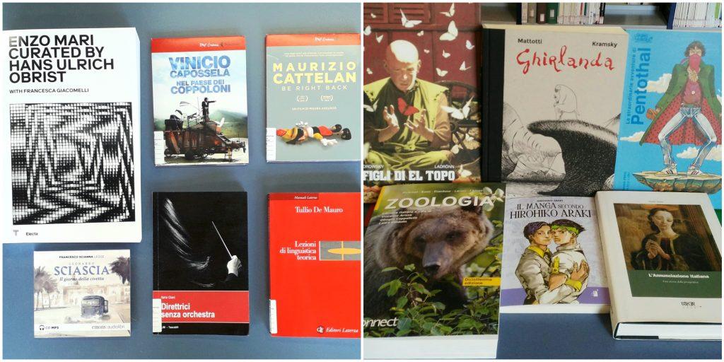 Nuovi arrivi in Biblioteca Emilio Lussu luglio 2021